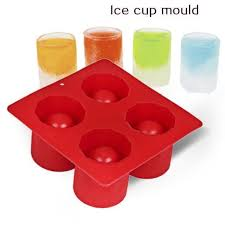 2019 4 cup ice cube shot shape silicone shooters glass freeze molds maker tray party bar tools ice shot glass mold cca9460 from nenyan 2 74 dhgate com