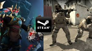 dota 2 and counter strike global offensive are bigger than steam