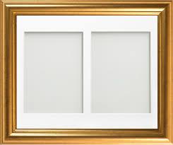eldridge multi aperture range gold 14x11 frame with white mount cut for image size 8x6 x2