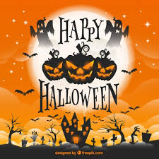 halloween pictures to download halloween greeting card vector free download