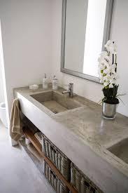cemcrete s satincrete or cretecote can be used to coat a bathroom vanity