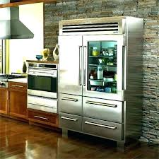 sliding door refrigerator glass for home freezer combo front