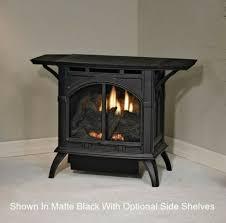 empire wmh vent free cast iron gas fireplace stove medium matte black for