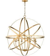 quorum 6009 8 80 celeste 33 inch aged brass chandelier ceiling light sphere