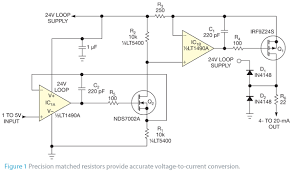 convert 1 to 5v signal to 4 to 20 ma output edn convert 1 to 5v signal to 4 to 20 ma output figure 1