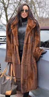 mink furs amazing royal saga mink long fur coat with beautiful big collar in natural