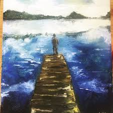 Image result for suicide painting
