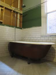 astounding bathroom decoration design with painted clawfoot tub inspiring image of painted clawfoot tub decoration