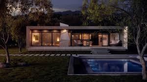 modern concrete house plans modern house