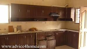 kitchen design wood. dark cherry wood modular kitchen design