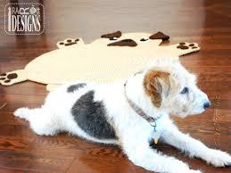 kids animal rug photo 5 of 6 pug puppy dog animal rug nursery mat crochet pattern