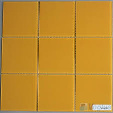 4 x4 glass tile ochre inch wall mosaic glass tile 4x4 clear glass tile craft