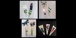 glass nite plant spikes