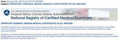 Cdl Medical Card Paper Copy Still Needed