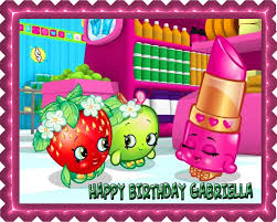 Shopkins 1 Edible Cake Topper Edible Prints On Cake Epoc