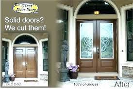 exterior door glass inserts with french doors between built in interior inside blinds 5 photos image