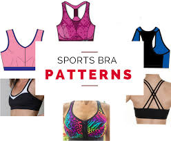 Bra Patterns Gorgeous Sports Bra Sewing Patterns Last Stitch