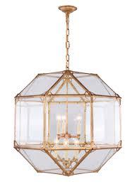gordon collection 6 light golden iron finish chandelier