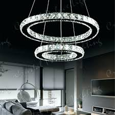 crystal chandelier miami beach 3 ring crystal chandelier designs decorations for room ideas
