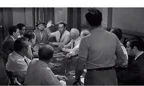 scene pick angry men juror votes not guilty word  12 angry men