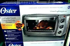 oster stainless steel convection oven oster stainless
