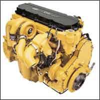 cat s acert engines promise to be formidable egr alternatives in addition to dual turbochargers you see stacked in series this c13 acert engine like the c11 receives a new cross flow head larger oil sump