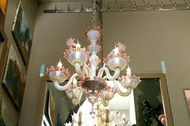 murano blown glass chandelier other pink and white blown glass chandelier with flowers circa for murano blown glass chandelier