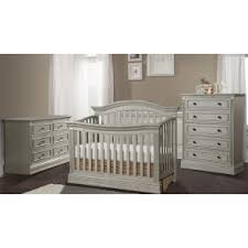 gray nursery furniture. stella baby trinity 3 piece nursery set in chateau gray furniture g