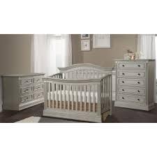 grey furniture nursery. stella baby trinity 3 piece nursery set in chateau grey furniture n