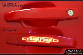 Phastek 2010 2015 Camaro Ghosted LED Door Handles