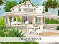plan maison de luxe sims 4 avec villa apricot by pralinesims at tsr via sims 4