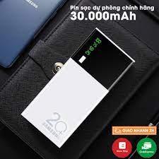 Sạc dự phòng 30000 mAh 2 cổng USB Sạc nhanh,nhỏ gọn tiện lợi Tích Hợp Sạc  Nhanh Fast Charge tại Hà Nội