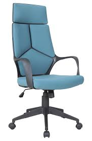 adjustable office chairs. Candace \u0026 Basil Furniture | Adjustable Office Chair With Gas Lift - Blue Chairs