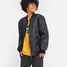 <b>Куртка</b>-<b>бомбер</b>, 10-16 лет черный <b>La Redoute</b> Collections | La ...