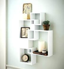 decorative floating wall shelf display unit how to decorate a wall shelf how to build a