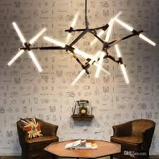 2017 modern tree branches chandelier office art lights alloy fashion personality led restaurant lights ceiling light shades pendant light shades from kare