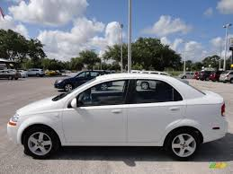 All Chevy chevy aveo 2006 : Summit White 2006 Chevrolet Aveo LT Sedan Exterior Photo #50093538 ...