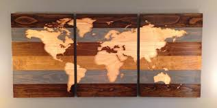 world map routed into pine and stained  on map wall art reddit with world map routed into pine and stained each panel is 24 x 36