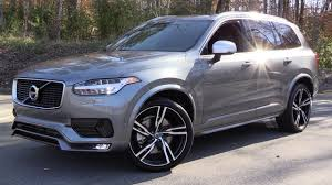 Volvo Xc90 R Design 2016 Volvo Xc90 T6 R Design Start Up Test Drive And In Depth Review
