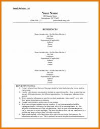 How To Do A Resume For A Job How To Do Resume Reference Page List Of References Childcare 74