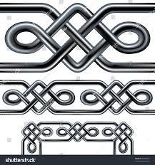 Celtic Rope Designs Seamless Celtic Rope Design Element Complex Stock Vector