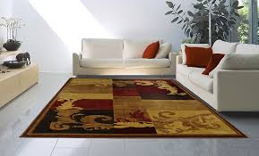 home dynamix area rugs catalina rug 1258 539 brown red contemporary rugs area rugs by style free at powererusa com