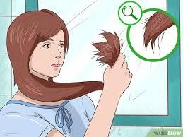 طرق قص الشعر مدرج بالصور, طرق قص الشعر كيف تقصين شعرك مدرج في المنزل بطريقة جدا سهلة   chhiwati.com قص شعرك بنفسك Wikihow