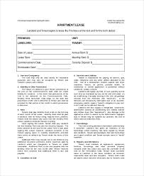 Lease Template Word - Kleo.beachfix.co