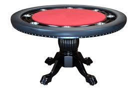 Game Table And Chairs Set Bbo Poker The Nighthawk Round Poker Table Set W Dining Top And 4