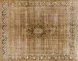 gold overdyed rug