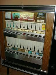 Loose Cigarette Vending Machine For Sale Mesmerizing CIGARETTE VENDING MACHINE MY CHILDHOOD 48's48's Pinterest