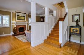 basement half wall stairs