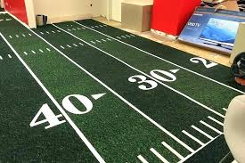 football field rugby rug large area
