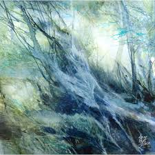 Arbres de lumière - Anne Huet-Baron - Watercolour